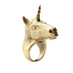 Unicorn Ring- i have this slight obsessions with unicorns...ever since i saw the last unicorn. love this.