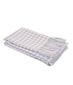 Joanna Wood Blue Baby Blanket #baby #cosy #christmasgiftideas www.joannawood.co.uk