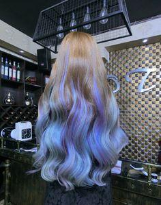 32 lovely purple hair color ideas trending in 2019 21 Pretty Hair Color, Hair Color Purple, Hair Dye Colors, Pastel Hair, Ombre Hair, Lilac Hair, Periwinkle Hair, Green Hair, Blue Hair
