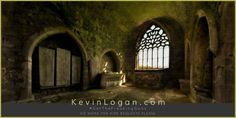 """Kilcooley Abbey / Knights Chamber - Co. Tipperary, Ireland"" View this photograph ⇒ http://kevinlogan.com/?p=5137 --- Archival Giclée Prints are available to purchase. 28 inch (71.2cm) wide inexpensive sample prints of my panorama photographs are available as well. --- If you wouldn't mind, could you share my post??? Cheers, Kevin"