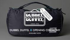 dubbel duffel bag system