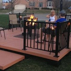 Our UDECX Patio Deck System. This easy to install DIY patio can be done at a fraction of the cost compared to a professionally installed concrete patio.
