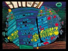 Hundertwasser video, great music with it.
