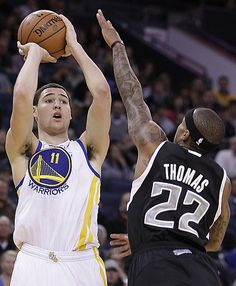 d764c4af996 Klay Thompson scored a career-high 31 points against Isaiah Thomas and the  Kings.