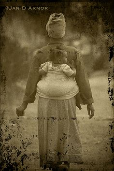 Woman and Child-Soweto