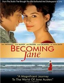 Becoming Jane. This story ended up slightly sad...but hey, it's still superbly enjoyable to watch :)
