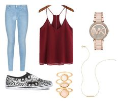 """""""Untitled #2"""" by salonibhagat on Polyvore featuring 7 For All Mankind, Vans, Wish by Amanda Rose, Monsoon and Michael Kors"""