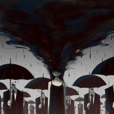 Sombres, satiriques mais poétiques, les illustrations du japonais Avogado6 (image)