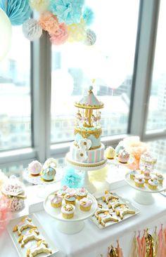 Image result for carousel dessert displays