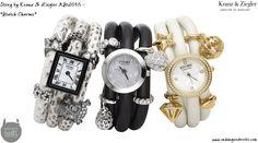 Story by Kranz & Ziegler Autumn Winter 2013 Watch Charms Fall Winter, Autumn, Winter Collection, Jewelry Design, Designer Jewellery, Bracelet Watch, Charmed, Watches, Bracelets
