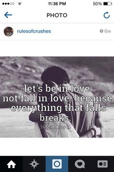 The best love quotes every be in love not fall