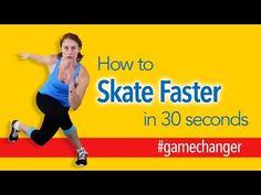 Gamechanger - How to Skate Fast!   Roller Derby Athletics - YouTube