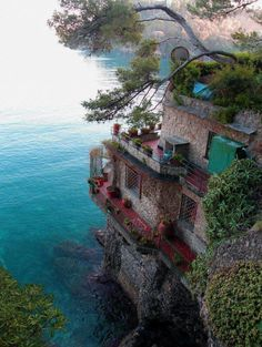 House on a Cliff, Greece