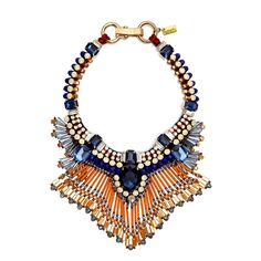 Butterfly Show Stopping Fiji Statement Necklace from Cure