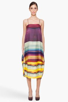michael angel silk slip dress