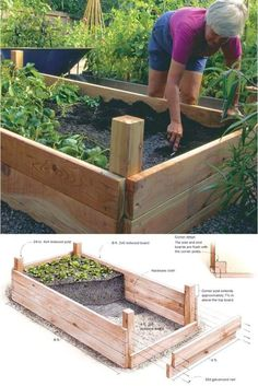 Planting on raised garden beds brings many benefits compared to planting on the ground. But the most crucial one is you can grow a garden even in a Diy Gardening, Organic Gardening, Container Gardening, Succulent Containers, Container Flowers, Flower Gardening, Container Plants, Compost Container, Florida Gardening