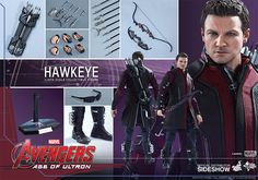 Sideshow Collectibles AVENGERS: AGE OF ULTRON Hawkeye Action Figure Review — GeekTyrant