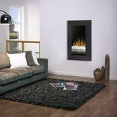 Found it at AllModern - Recessed/Wall Mount Black Electric Fireplace