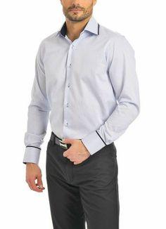Košile Jerem Chef Jackets, Blues, Shirt Dress, Mens Tops, Shirts, Dresses, Fashion, Vestidos, Moda