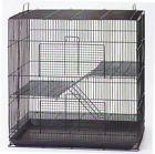 Small Animal Sugar Glider Chinchilla Ferret Rat Mice Cage K701H Black-951 - http://pets.goshoppins.com/small-animal-supplies/small-animal-sugar-glider-chinchilla-ferret-rat-mice-cage-k701h-black-951/