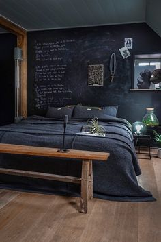 Small and Stylish Bedroom Design Trends and Ideas in 2019 Part bedroom ideas; bedroom ideas for small room; Modern Master Bedroom, Stylish Bedroom, Modern Bedroom Design, Home Bedroom, Bedroom Wall, Bedroom Decor, Wall Decor, Bedroom Ideas, Minimalist Bedroom