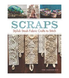 The Scraps book gives you plenty of ideas to turn rags to riches. This scraps book contains 75 pages filled with a list of easy step-by-step instructions, a materials, tools and basic techniques secti