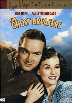 THE GHOST BREAKERS - Bob Hope & Paulette Goddard - Paramount Pictures - DVD Cover Art.