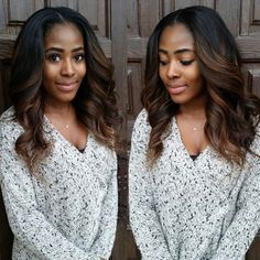Ombre Hair Color for Black Women (29)