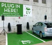 New apartment communities are starting to integrate EV charging stations. The single-family guys might want to take note.