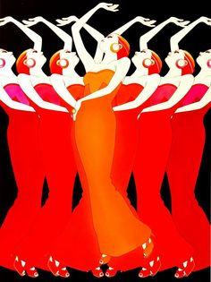 artdeco.quenalbertini: Art Deco Illustration