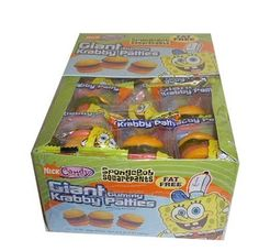 SpongeBob Squarepants Giant Gummy Krabby Patties « Holiday Adds