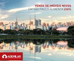 De acordo com boletim divulgado pelo Sindicato da Habitação de São Paulo (Secovi-SP), 2.987 unidades residenciais novas foram vendidas na cidade em novembro de 2014, o que representou um aumento de 210,2% em comparação com o mês anterior.
