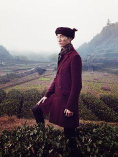 Editor : Rocky Liang / Fashion Editor : Rebecca Wang / Make up : Joanna Lily Wong / Models : Masson Ge & Jemmy / Producer : Sun Ting Ting / Stylism : Masha Ma / Qiu Hao / Hermes
