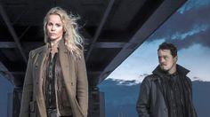 Thure Lindhardt sai unelmaroolin. Hän näyttelee Saga Norénin (Sofia Helin) tanskalaista työparia Henrikiä.
