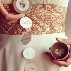 Seven bridesmaid or Maid Of Honor Gift Box Invitation