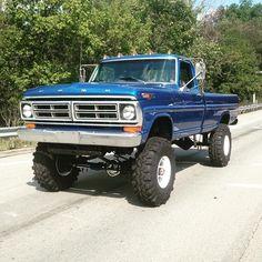 72 Ford Highboy That's what l'm talking about ! Big Ford Trucks, Classic Pickup Trucks, Old Pickup Trucks, Diesel Trucks, Lifted Trucks, Cool Trucks, Lifted Dually, Small Trucks, Chevy Trucks