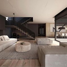 99 fabouls modern house interior ideas that you must see - Modern House Plans - Four Cool Features All these four popular features can be seen in house plans. Some modern innovations within this discipline enable Contemporary Interior Design, Modern House Design, Home Interior Design, Interior Architecture, Interior Ideas, Amazing Architecture, Modern Living Room Designs, Bedroom Modern, Design Interiors