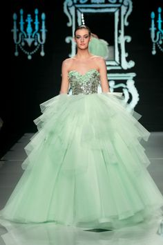 Abed Mahfouz - collection haute couture S/S 2012