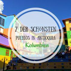 7 Der Schönsten Pueblos in Antioquia I Kolumbienblog.com Eine Liste der schönsten Därfer in Antioquia, Kolumbien. Mit dabei unter anderem Guatape und Santa Fe #kolumbien #colombia #travel #antioquia