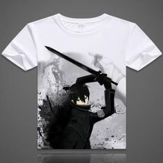 ed0450375d838 Sword Art Online Short Sleeve Anime T-Shirt - OtakuForest.com Sword Art  Online