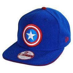 Animation   Superheroes. Captain America LogoNew Era CapHat ... 02bfc0bd2