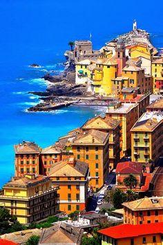 Camogli, Italian Riviera, province of Genoa, Italy - 15 most beautiful places to visit italy