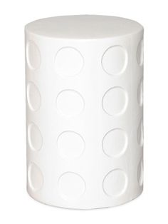 Circle Garden Stool by Emissary on Gilt Home. You can place this piece on your patio or terrace.