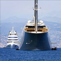 Sailing Yacht 'A' and MotorYacht 'A' of Russian billionaire