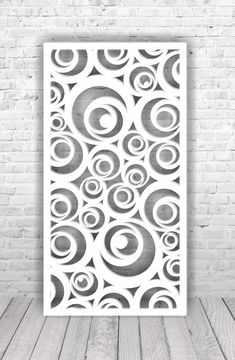 Set of ( room divider screen) panels abstract and geometric pattern, for laser, plasma, plotter and CNC machine cutting. Gate Design, Door Design, Design Design, Pvc Pipe Crafts, Foam Crafts, Laser Cut Panels, Laser Cut Screens, Decorative Screen Panels, Jaali Design