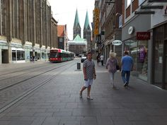 Corsican Boy: German street