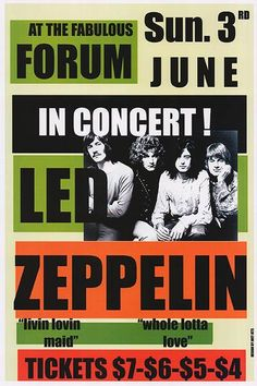 I want to live in the world where I can go to a Led Zeppelin concert for 7 dollars!