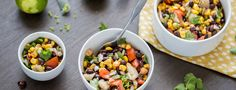 This easy Black Bean Salad recipe is what I use when I have to take a dish to an event because it is so quick to make and everyone comes back for seconds.
