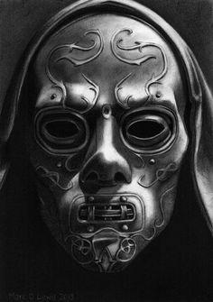 Harry Potter Death Eater Mask by Marc137.deviantart.com on @deviantART