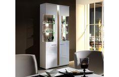 Vitrine haute moderne - Vaisselier design - Meuble et Canape.com